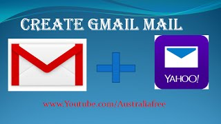 how to create Gmail with recovery yahoo mail,Khmer Australia technology part 02