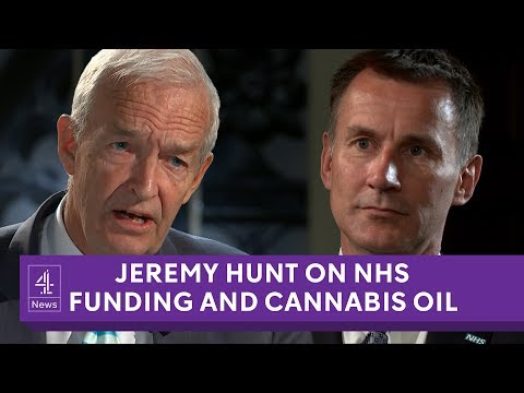 Jeremy Hunt on NHS funding, medicinal cannabis and 'Brexit dividend'