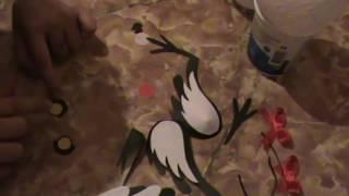 Птица (Сорока) из ниток своими руками. Второй выпуск
