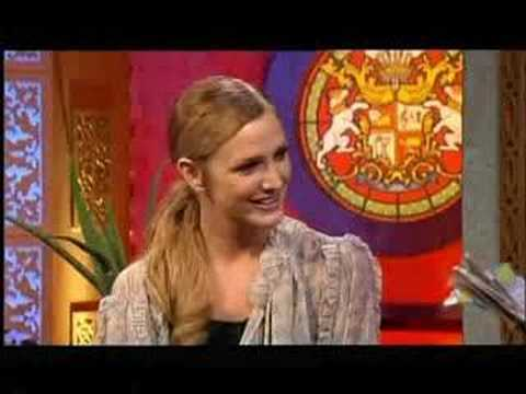 Ashlee Simpson on The Charlotte Church