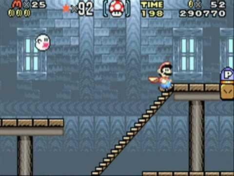 SMA2, Super Mario World, Part 11: Donut Ghost House