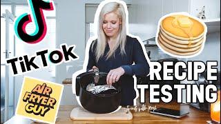 AIR FRYER GUY  Pancake Recipe Testing  TIK TOK FAILS