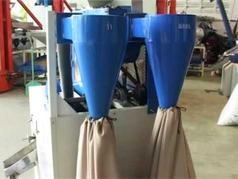 How rice milling machine work
