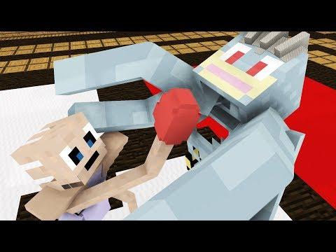 Monster School: Pokemon Battle  Cubic Minecraft Animation