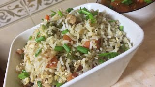 Chicken fried rice||How to make chicken fried rice with english subtitles  recipe no 23