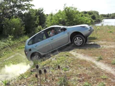 Renault Scenic Rx4 Off Road Youtube