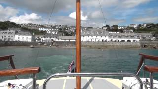St Mawes ferry Fal River Cornwall
