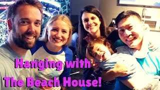 Hanging with THE BEACH HOUSE