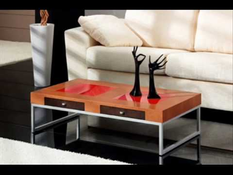 Mesas centro youtube for Muebles salvany