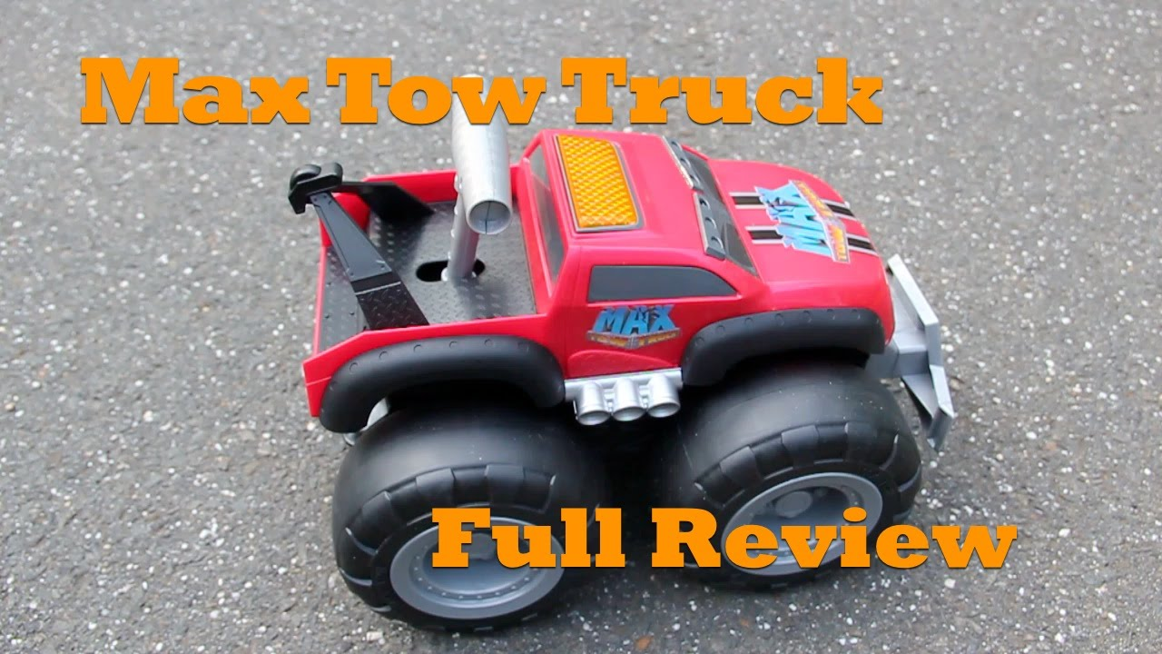 Max Tow Truck Full Review Can This Toy Really Pull 200 Pounds