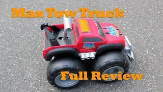 Max Tow Truck, Full Review.  Can This Toy Really Pull 200 Pounds?