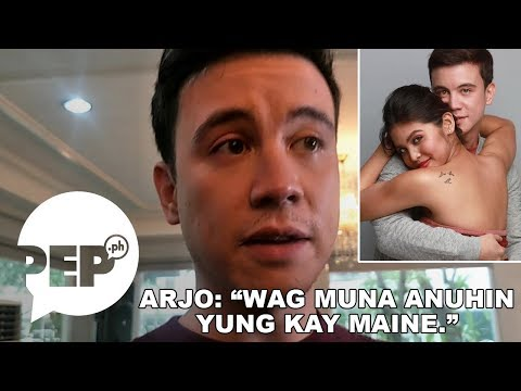 Arjo Atayde tries to avoid talking about Maine Mendoza