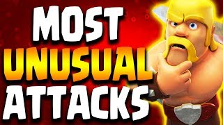 Most UNUSUAL 3 Star Attacks in Clan War | Clash of Clans