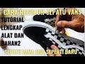 Cara Cat Sepatu Vans Checkered #recolor Sepatu Vans Mudah Dan Murah