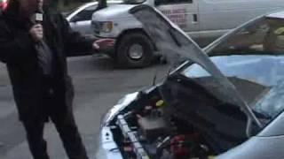 Subaru R1e Electric Car Test drive