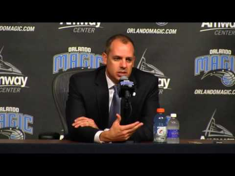 Frank Vogel's Introductory Press Conference | Orlando Magic | May 16, 2017 | NBA Playoffs