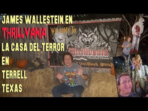 James Wallestein en Thrillvania - Terrell - Texas