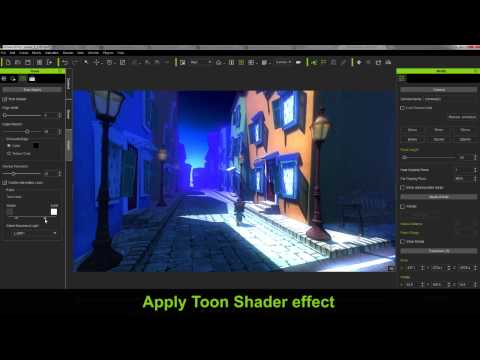 iClone 6 Feature Demo - Toon Shader