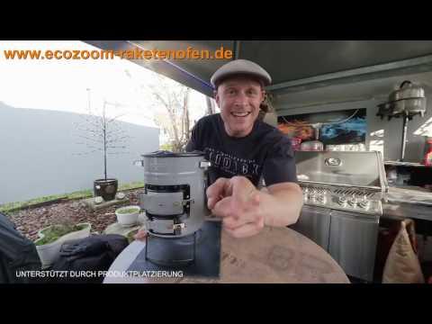 EcoZoom Versa Raketenofen: Hamburger-Test