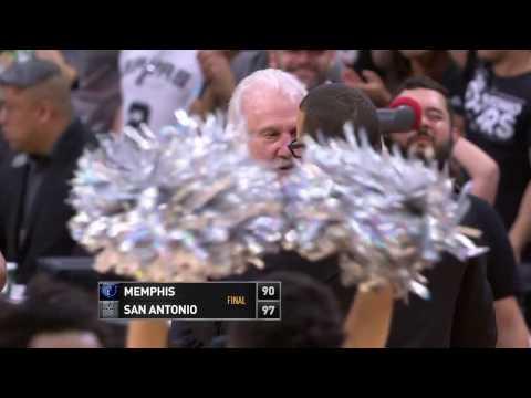 Memphis Grizzlies at San Antonio Spurs - March 23, 2017