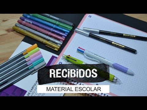 Haul + Sorteo Material Escolar (CO) - UGDT