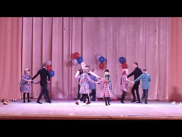 №260 Воспитанники школы. Танец