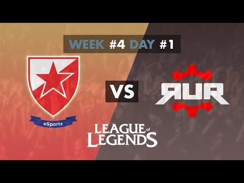 LOL - Crvena Zvezda vs RUR Esports - Game 1 - Group Stage [W4D1] - Vip Adria League