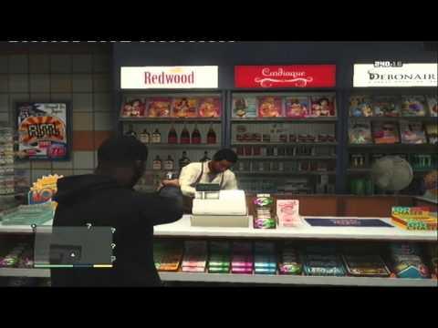 Grand Theft Auto 5 Part 24 - The Redwood Cigarette Assassination