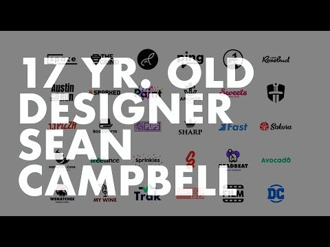 17 yr Old Graphic Designer Sean Campbell—Self Taught Young Gun
