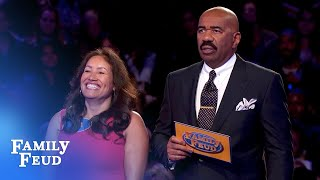 Preston and Lisa play Fast Money!   Family Feud