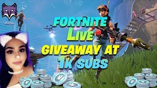 FORTNITE: GIVEAWAY AT 1K SUBS // 880 WINS 18K KILLS (Fortnite Battle Royale)