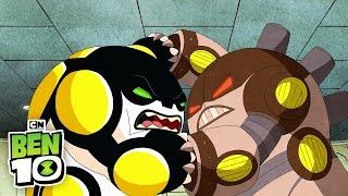 Ben 10 | Cannonbolt vs Cannonbolt | Cartoon Network