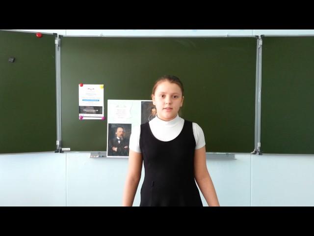 Изображение предпросмотра прочтения – ВалерияБобылева читает отрывок изпроизведения «Крестьянские дети» Н.А.Некрасова