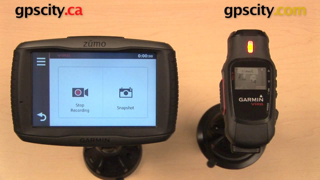 garmin virb wirelessly connecting with the zumo 590lm youtube. Black Bedroom Furniture Sets. Home Design Ideas