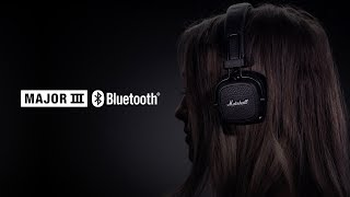 Marshall - Major III Bluetooth Headphones - Full Overview French