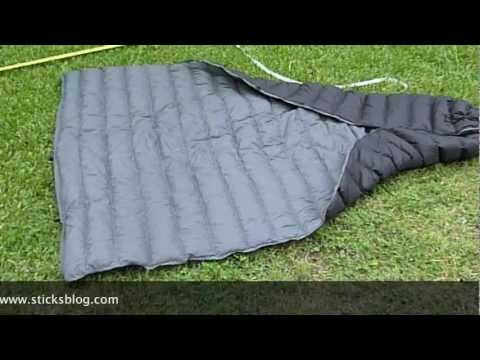 First Look: Hammock Gear 50 F Burrow Top Quilt