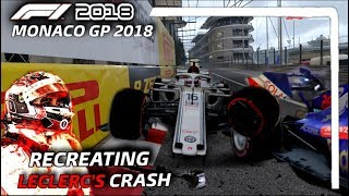 F1 2018 GAME: RECREATING LECLERC