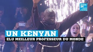Un Kényan élu meilleur professeur du monde !