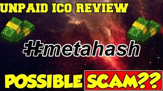 METAHASH IS A SCAM ICO REVIEW (2018)|METAHASH IS NOT WORTH IT!!