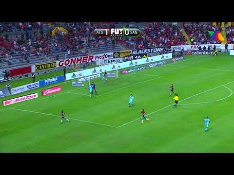 ¡Goooool! de M. Caraglio   Atlas 2-0 Santos Laguna   J13 CL18   Liga MX   AtlasFC