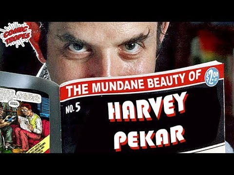 The Mundane Beauty of Harvey Pekar Comics