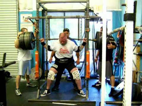 Jo Jordan - full gear squat training for TBB meet - 5 weeks out
