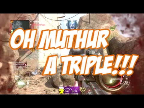 Oh Muthur A TRIPLE!!!