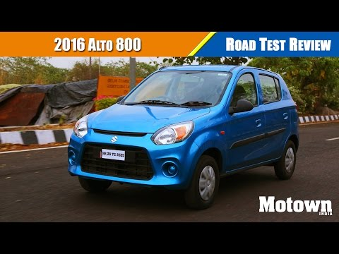 2016 Maruti Suzuki Alto 800 | Road Test Review | Motown India