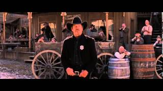 Django Unchained: Dr. Schultz and the Marshal