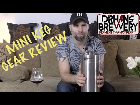 Gear review - Mini Kegs for home brewing