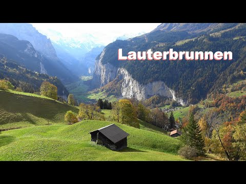 SWITZERLAND - Suiza - Lauterbrunnen, Beatenberg, Lake Brienz, Iseltwald, Sigriswil, Gunten