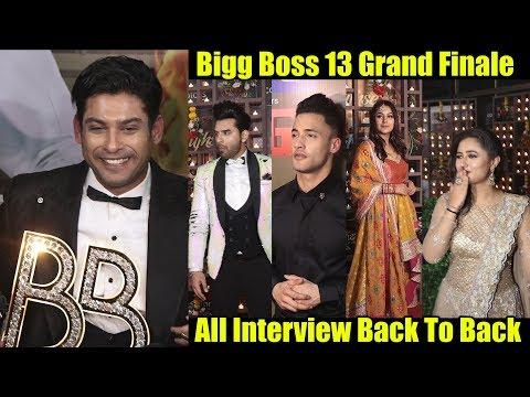 Bigg Boss 13 Grand Finale COMPLETE Video   Sidharth Shukla, Asim Riaz, Rashmi Desai, Shehnaaz Gill