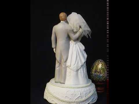 Wedding (bride and groom) music box series