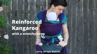 bc2a13cc014 What else can a stretchy wrap do  Kangaroo Carry with a Wrapsody hybrid